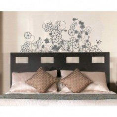 Adesivo da parete wall stickers Edera camera da letto Made in Italy