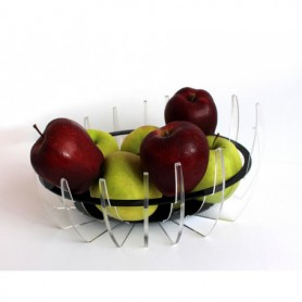 Portafrutta in Plexiglass design moderno