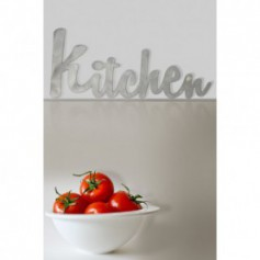 Scritta Kitchen per decorare la casa