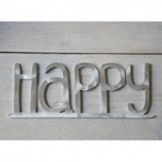 Scritta decorativa Happy