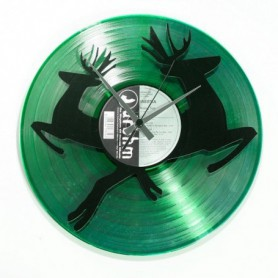 IN THE FOREST Disc'O'Clock - Orologio in vinile Emerald Green